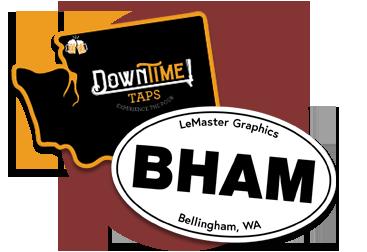 Bellingham Custom Logo Stickers